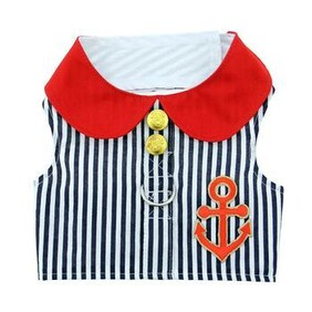 Sailor Boy Fabric Harness with Matching lead size Medium