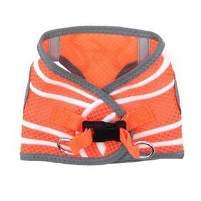 Choke Free Dog Harness Neon Sport Collection - Iridescent Orange size Xsmall