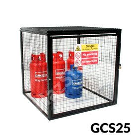Gas Cylinder Cage - GCS25