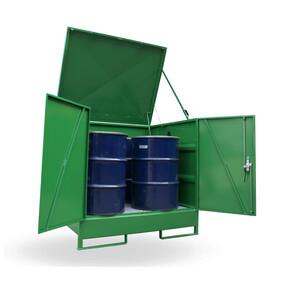 HS2 Outdoor Drum Store - 4 Drum