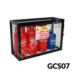 Gas Cylinder Cage - GCS07