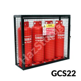 Gas Cylinder Cage - GCS22