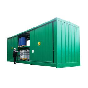 HSA12 Outdoor Drum / IBC Store - 96 Drum or 24 IBC