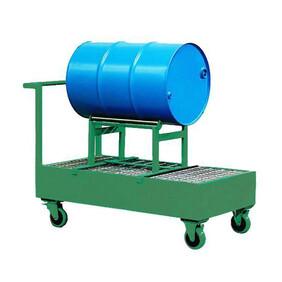 HS4 Drum Trolley - 1 Drum with Cradle