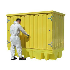 HS4 Hard Shell Spill Pallet - 8 Drum or 2 IBC