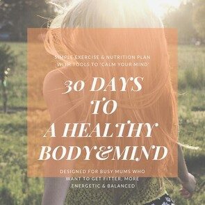 30 Day Challenge - fitness and nutrition support package