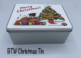 BTW Storage Tin - Christmas Limited Edition