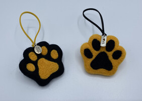 Hand Felted Paw