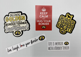 BTW Fun stickers - 5 pack