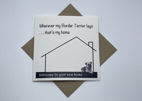 BTW greeting card - New Home