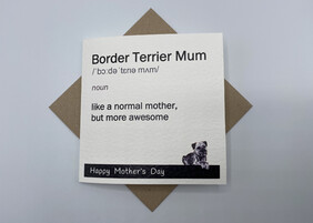 BTW greeting card - Mother's Day
