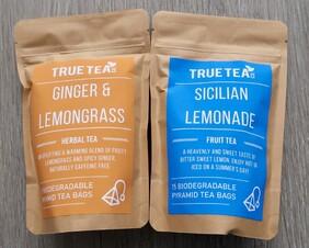 Sicilian Lemonade and Ginger and Lemongrass Herbal Tea Gift Tin