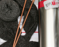 Knitting Tin : Sweetheart Neckwarmer