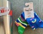 Kids Rainbow Happy Socks