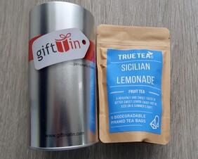 Sicilian Lemon Herbal Tea Gift Tin