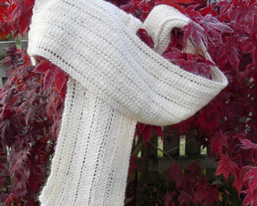 Knitting Tins : Lace Scarf