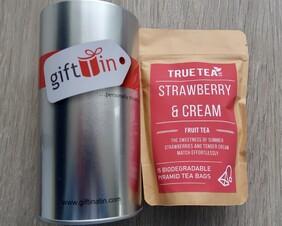 Strawberry and Cream Fruit Tea Gift Tin
