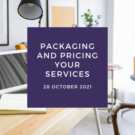 Packaging and Pricing Your Services