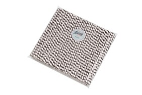 Smoothie Black and White ZigZag (197mm x 8mm) Biodegradable Paper Drinking Straws