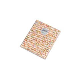 Leaves and Petals Floral Biodegradable Paper Drinking Straws - 197mm x 6mm (Regular)