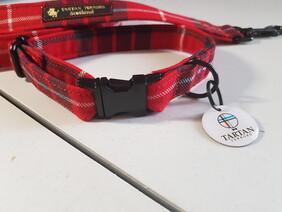 Clan Tartan - Fraser Red