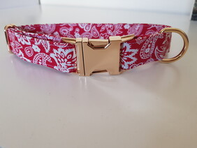 Paisley Floral (Red)