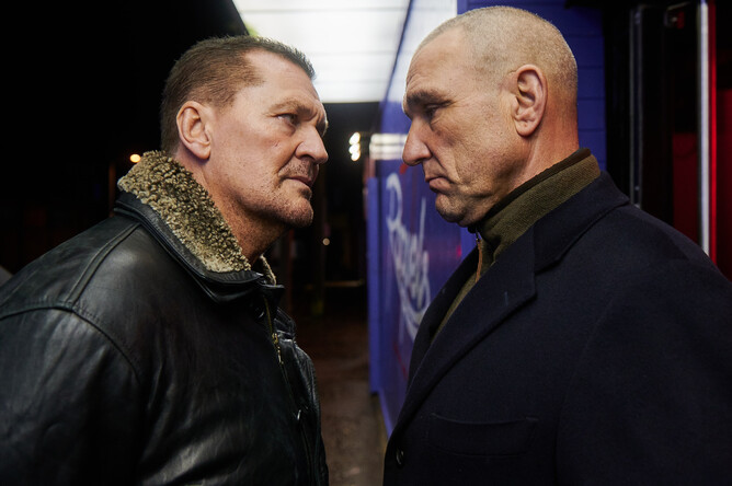 Craig Fairbrass and Vinnie Jones in Rise of the Footsoldier Origins