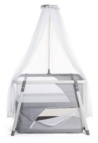 Nacalu Crib Grey + Mosquito + Bag Child Home