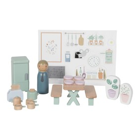 Doll's House Playset Kitchen Little Dutch