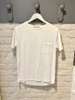 Crew Neck White T-shirt (Maggie)