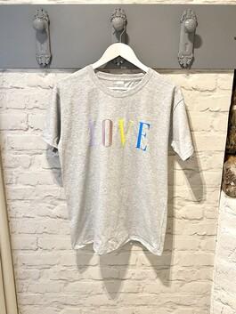Colour Print Love T-shirt