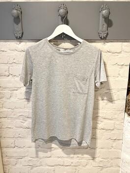 Crew Neck Grey T-shirt (Maggie)