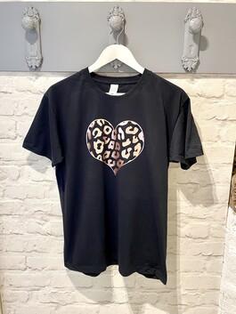 Rose Gold Heart T-shirt