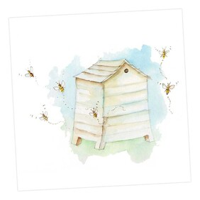 Crumble & Core Blank Beehive Card