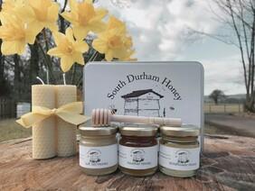 Honey & Candle Tin