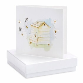 Crumble & Core Boxed Beehive Earring Card