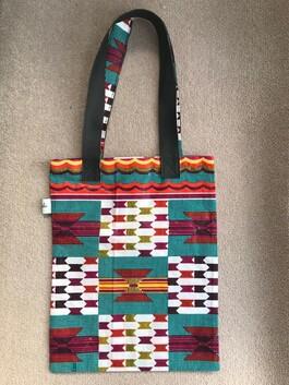 Geometric Design Tote Bag