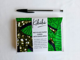 Pack of 6 Cards with Envelopes Green