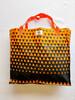 Orange and Black Shopping Bag