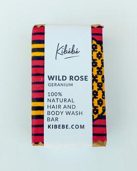 Wild Rose (Geranium) Hair and Body Wash Bar