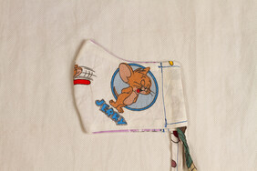 Tom and Jerry Kids' Face Mask