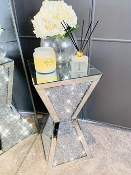 Crystal Pillar Table