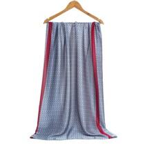Navy Blue Silk Scarf