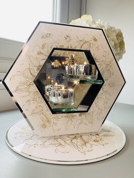 Bee Honeycomb Tealight Holder