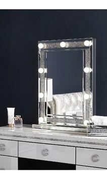 Crystal Glitz Light Up Mirror