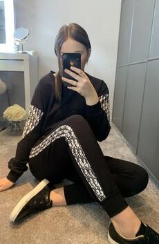 Black Loungewear Set