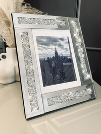 """Mirrored Crystal Frame 5x7"""""""