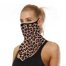 Leopard Print Scarf/Mask