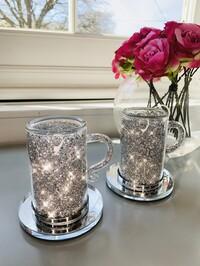 Crystal Glitz Mug & Coaster Set