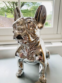 Electroplated French Bulldog